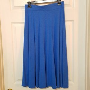 Tommy Bahama Long A Line Skirt Blue Size XS